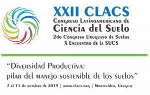 XXII Congreso Latinoamericano de la Ciencia del Suelo @ Montevideo, Uruguay